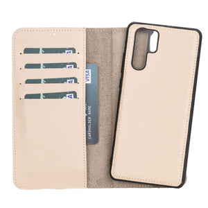 Magnetic Detachable Leather Wallet Case for Huawei P30 Pro