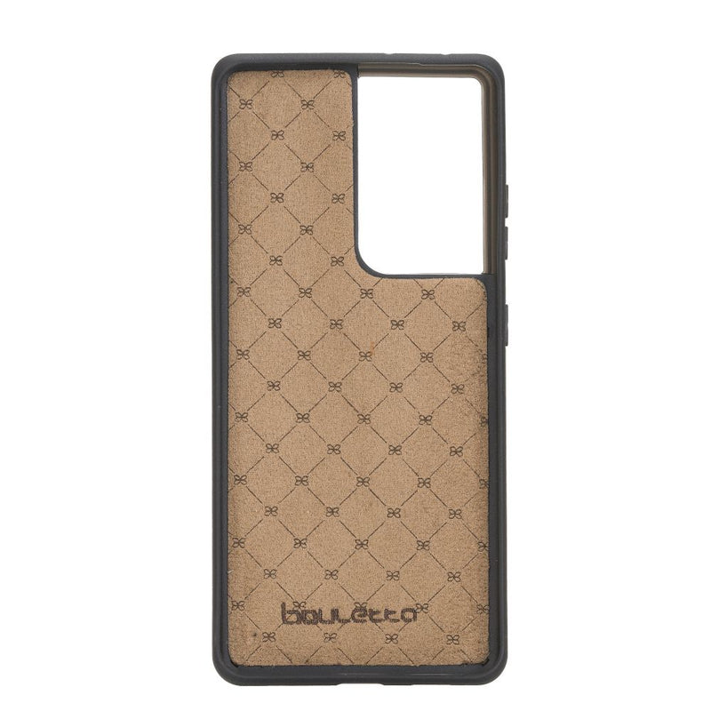 Samsung Galaxy S21 Ultra Leather Cases | Flex Cover Back Model