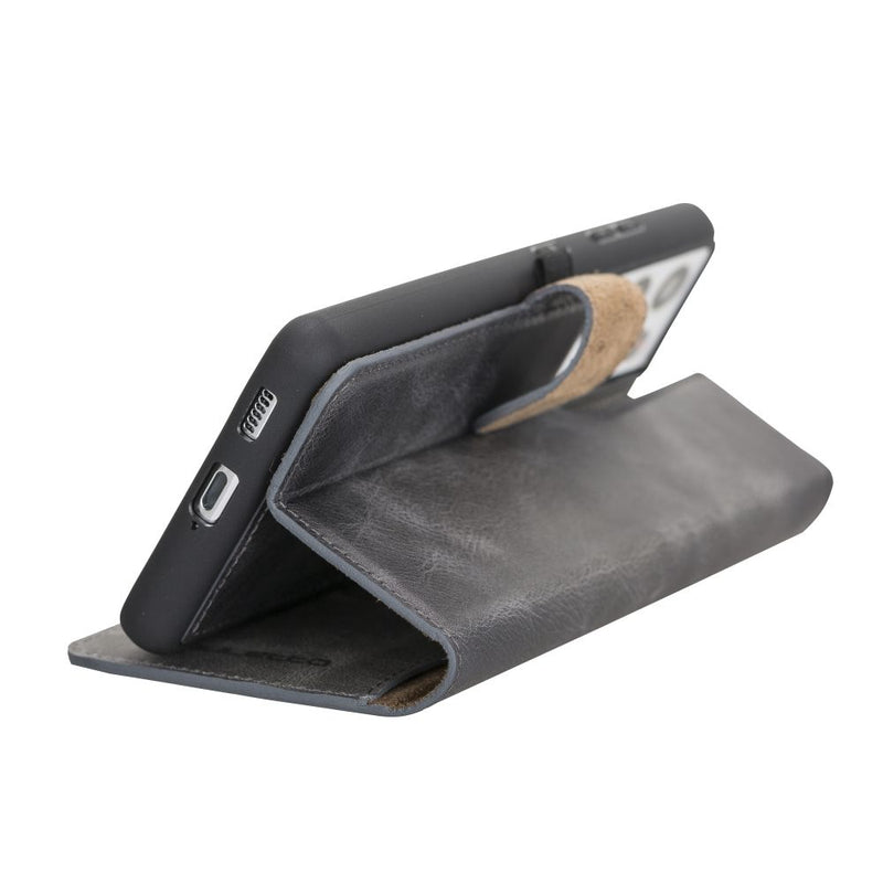Samsung Galaxy S21 Ultra Leather Cases | Wallet Follio with ID Slot Model