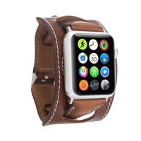 Aaslim Leather Cuff Watch Strap for Apple Watch 42mm / 44 mm