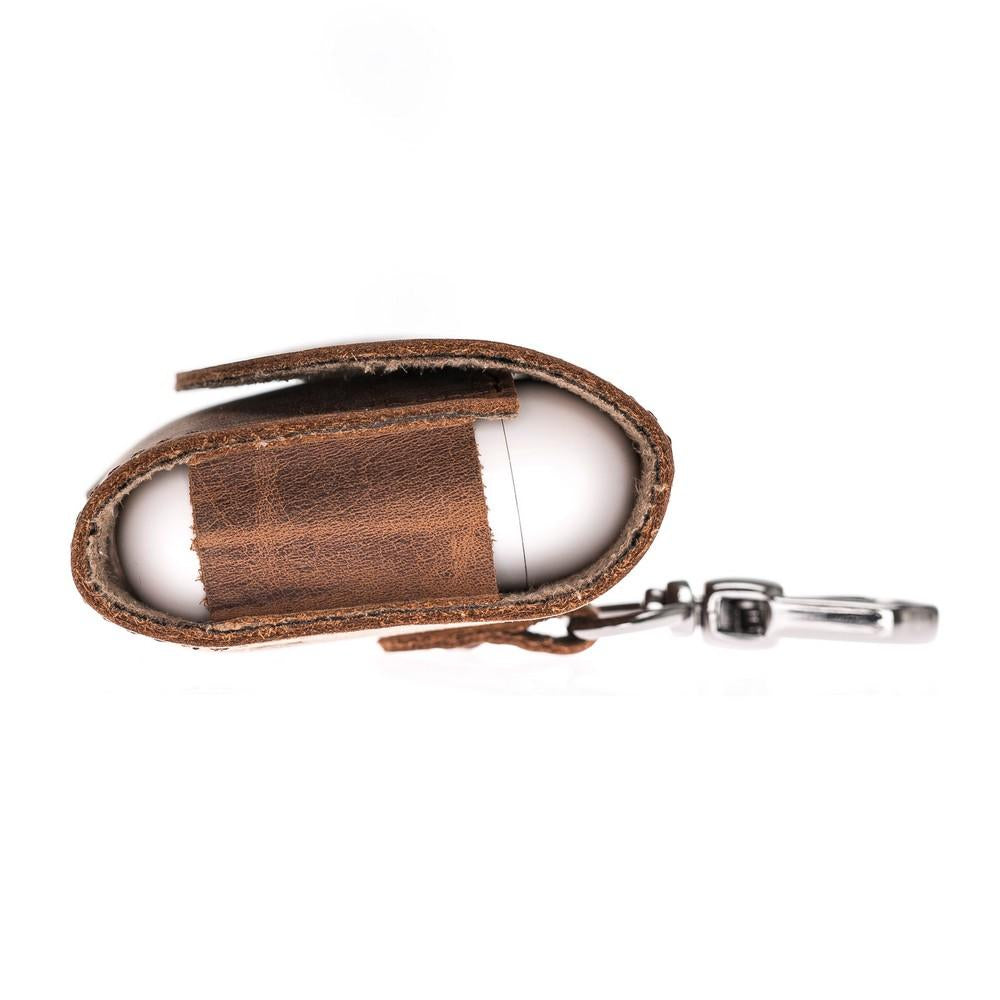 AirPods Leather Case with Hook