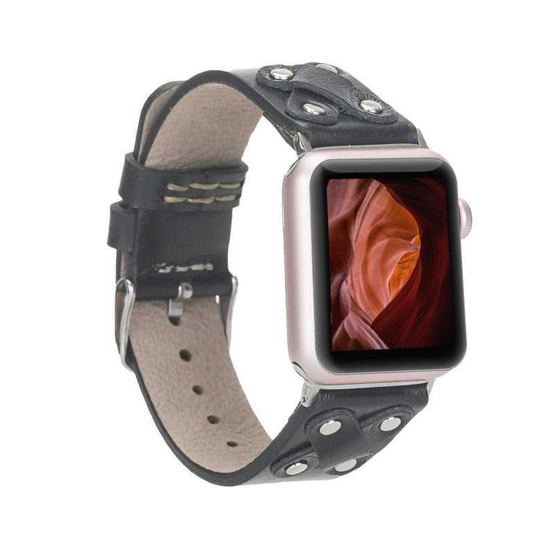 Apple Watch Leather Band 38-40mm/ 42-44mm | Cross Style - Silver Cross