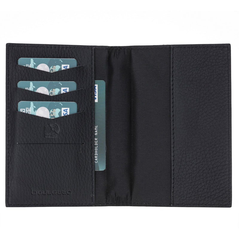 Arden Leather Passport Holder with RFID Blocker