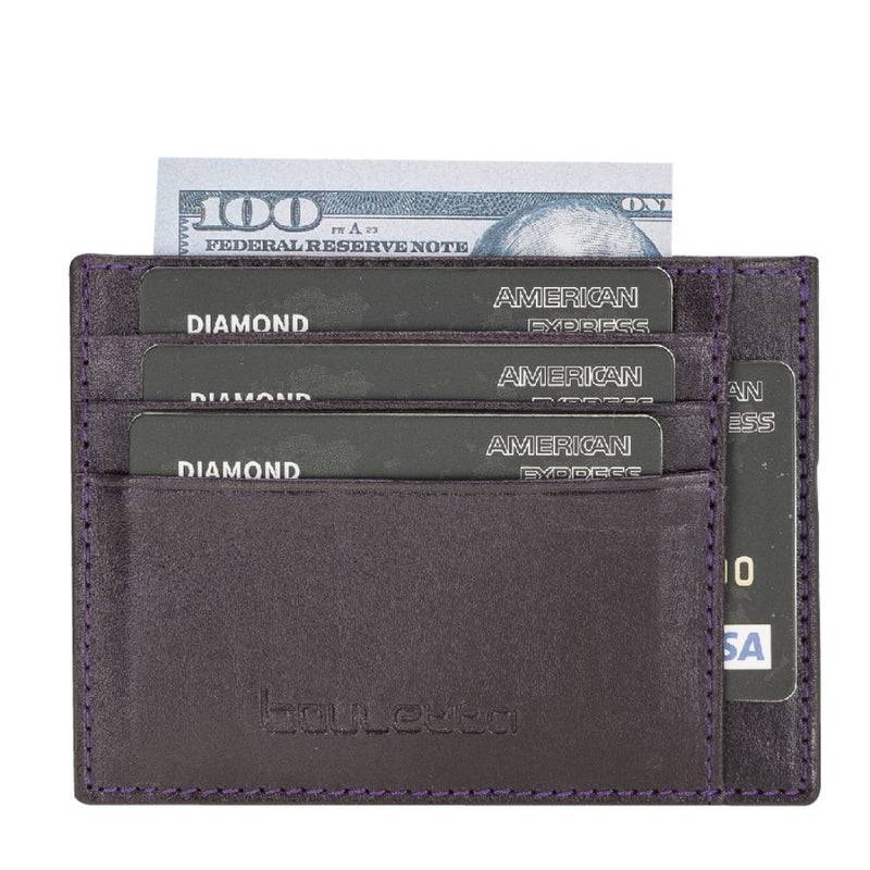 BLW18 Leather Credit Card