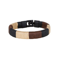 Bouletta Leather Wristband - Multicolor