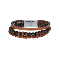 Bouletta Leather Wristband - WRB-013
