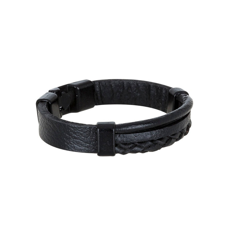 Bouletta Leather Wristband - WRB-017