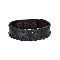 Bouletta Leather Wristband - IVY
