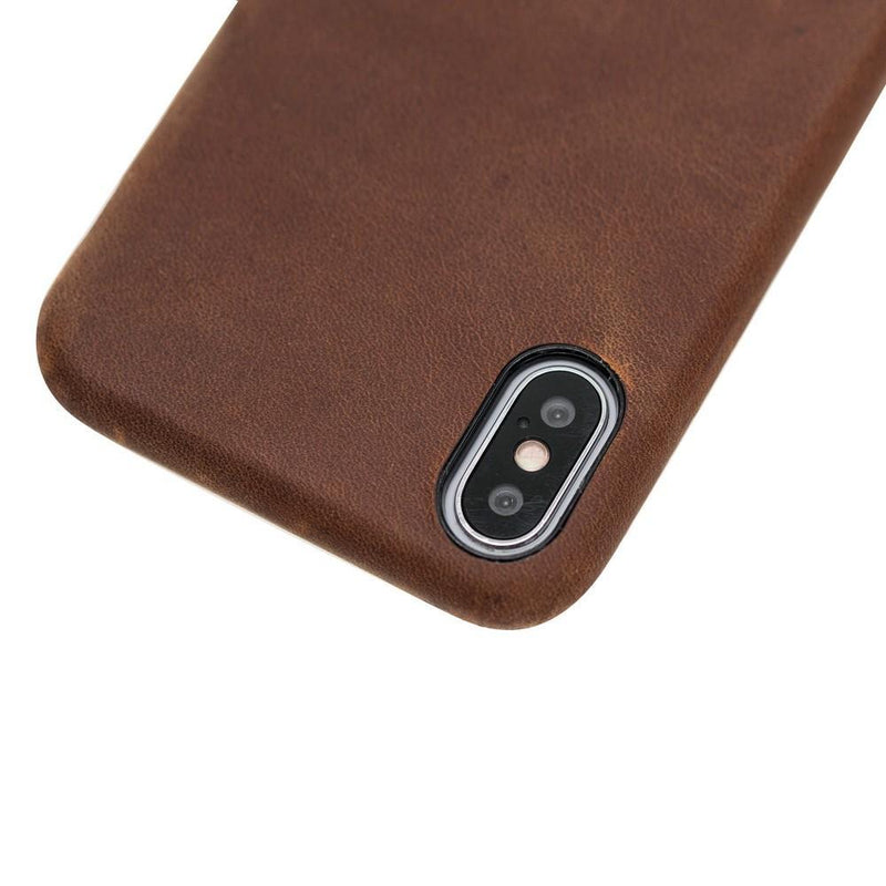 Concept Cover Leather Case for Apple iPhone X / iPhone XS