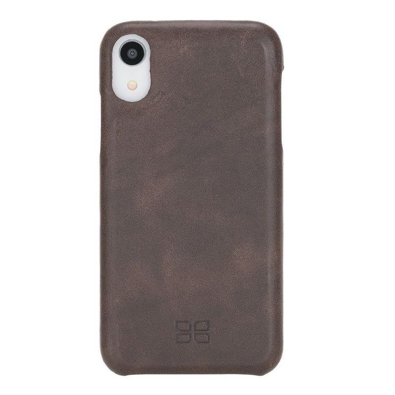 F360 Leather Back Cover Case for Apple iPhone XR