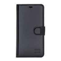 F360 Magnetic Detachable Leather Wallet Case with RFID Blocker for Apple iPhone 11 6.1""