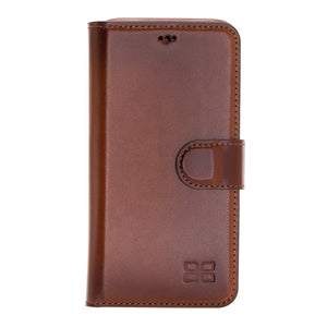 F360 Magnetic Detachable Leather Wallet Case with RFID Blocker for Apple iPhone 11 Pro 5.8""