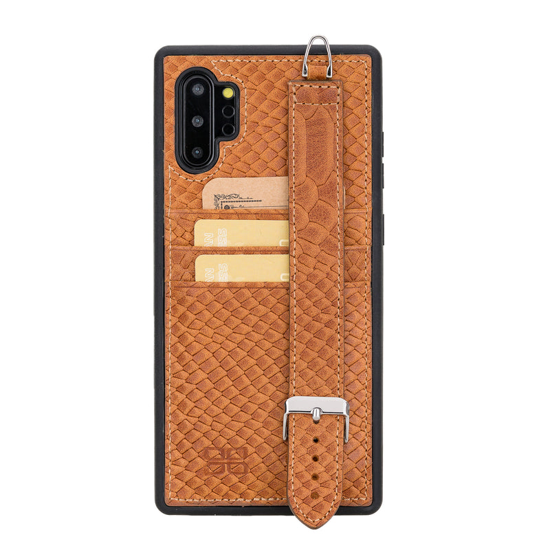 Flex Cover Back Case Card Holder with Handle for Samsung Galaxy Note 10 Plus