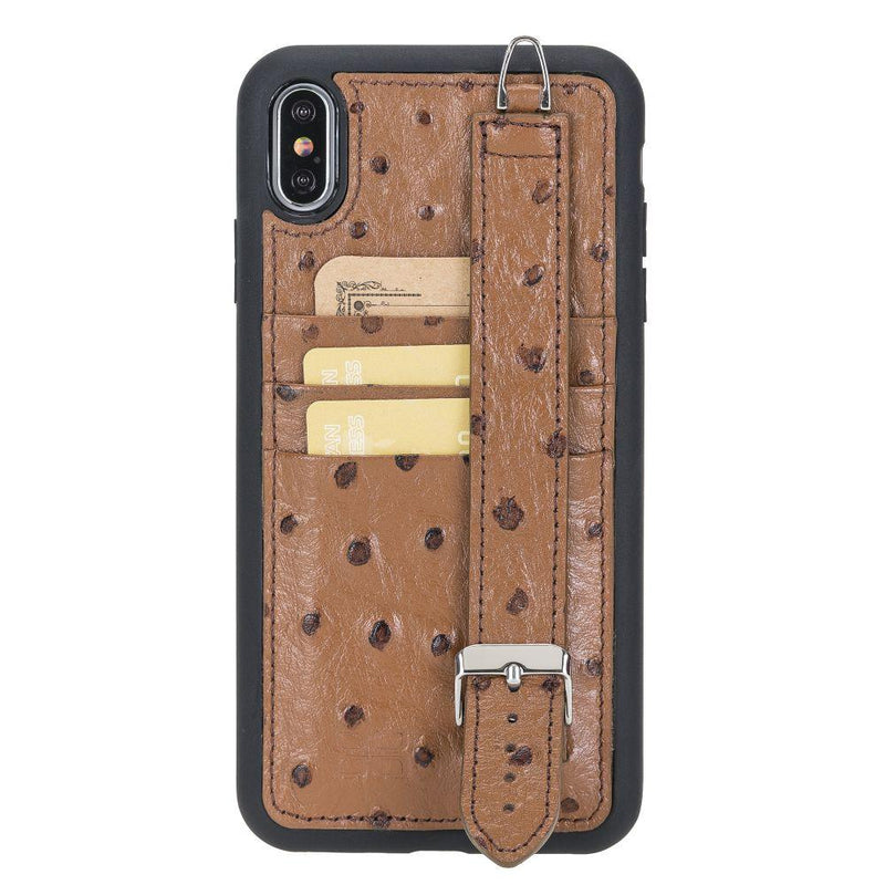 Flex Cover Back Case Card Holder with Handle for iPhone XS Max