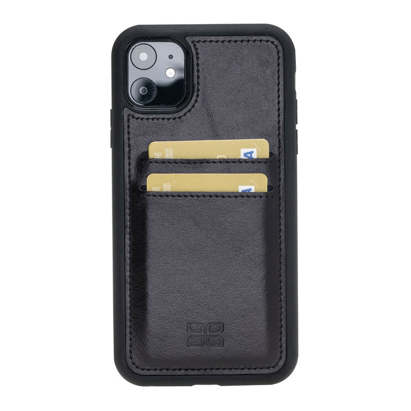 Flex Cover Back Leather Case with Card Holder for Apple iPhone 11 6.1""