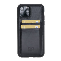 Flex Cover Back Leather Case with Card Holder for Apple iPhone 11 Pro 5.8""