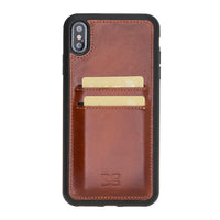 Flex Cover Back Leather Case with Card Holder for Apple iPhone XS Max