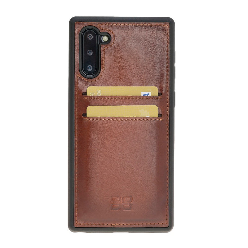 Flex Cover Back Leather Case with Card Holder for Samsung Note 10