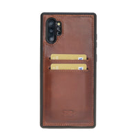 Flex Cover Back Leather Case with Card Holder for Samsung Note 10 Plus