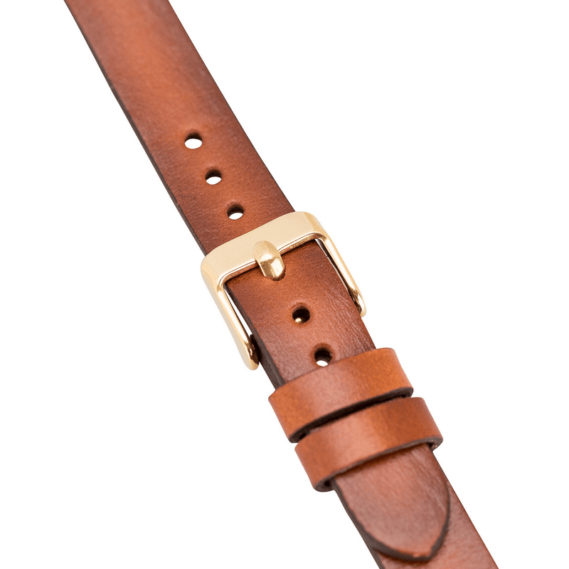 Genuine Leather Watch Band for Fitbit Versa 2 - Ferro