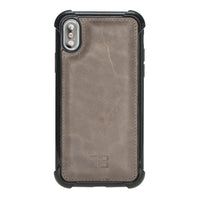 Guard Flex Cover Back Leather Case for Apple iPhone XS