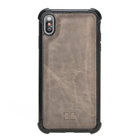Guard Flex Cover Back Leather Case for Apple iPhone XS Max