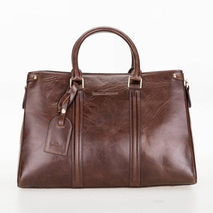 Lara Leather Women's Handbag - Women's Bag - Medium Size