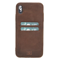 Leather Ultra Cover with Card Holder for Apple iPhone XS Max