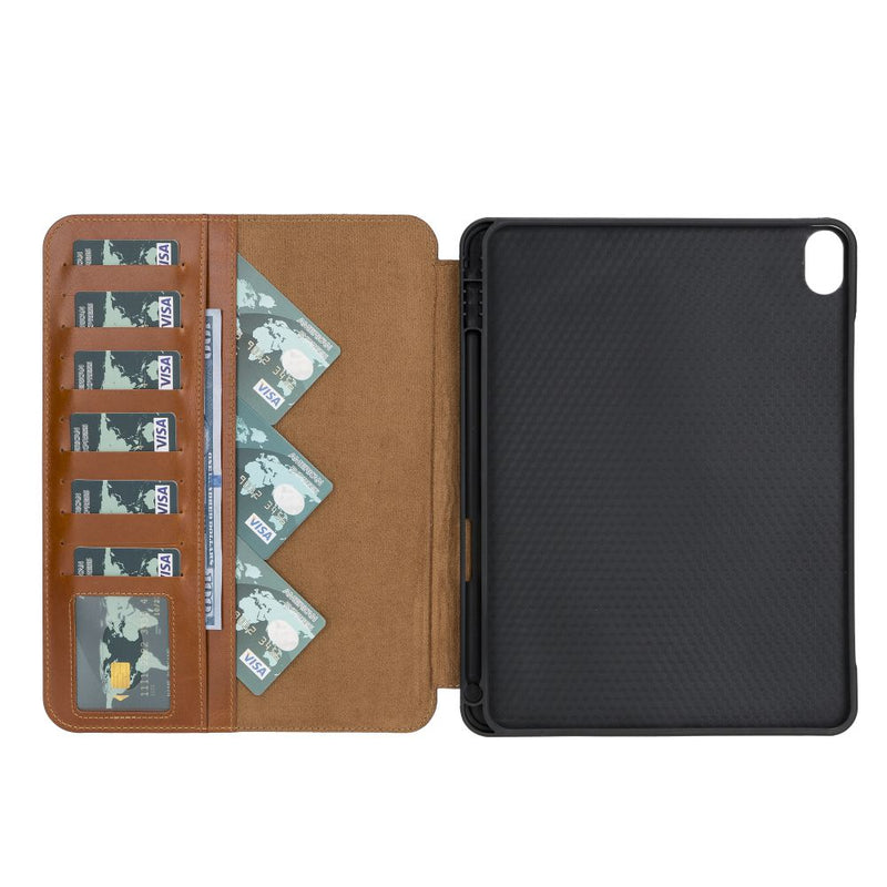 Eto Magnetic Detachable Leather Wallet Case for iPad Air 10.9""