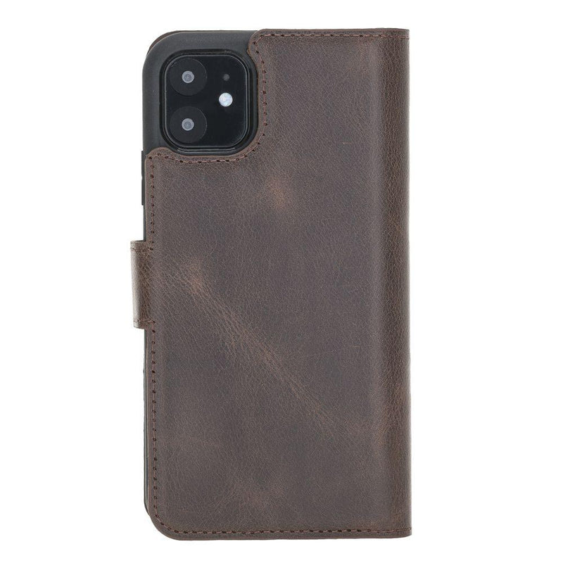 Magnetic Detachable Leather Wallet Case for Apple iPhone 11 6.1""