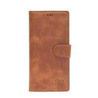 Magnetic Detachable Leather Wallet Case for Samsung Note 10