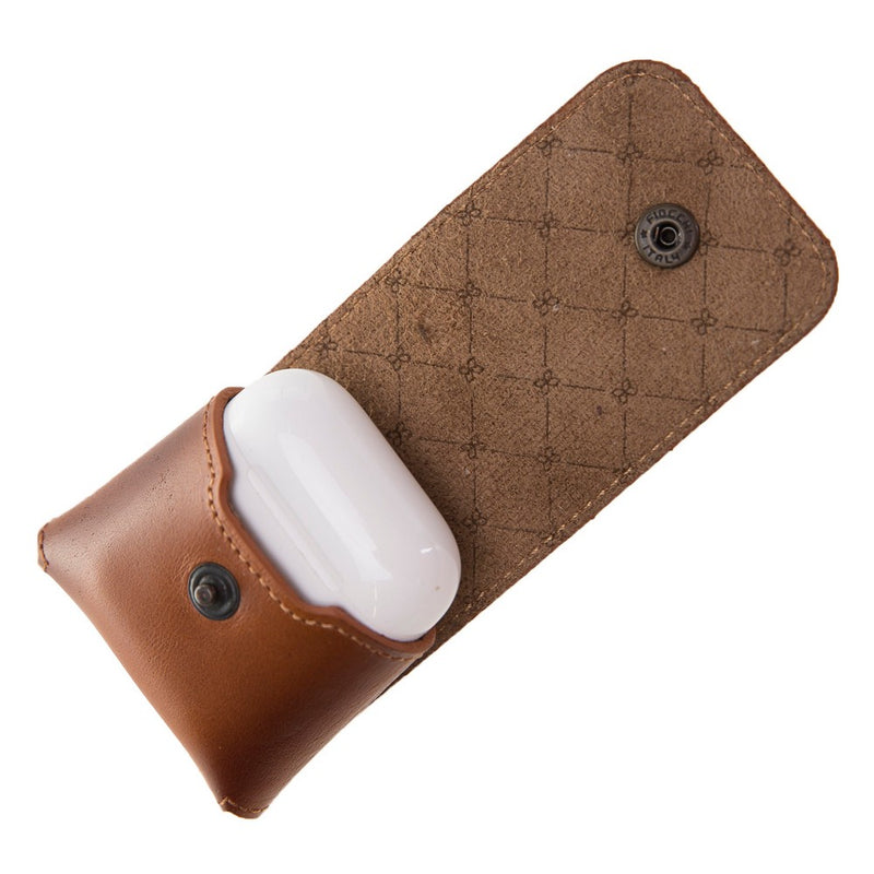 Mai AirPod's Leather Case with Hook