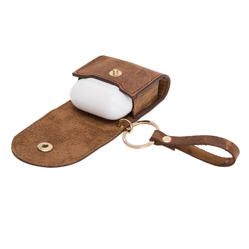 Mai Snap AirPods Leather Case