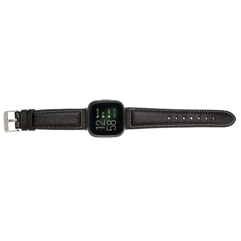 Leather Fitbit Watch Bands - NM1 Classic Stitched