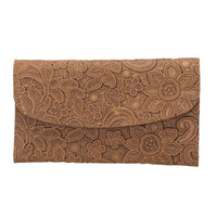Fleur Universal Genuine Leather Wallet