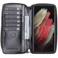 Samsung Galaxy S21 Leather Case | Pouch Wallet Case