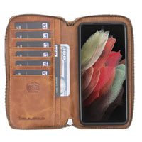 Samsung Galaxy S21 Plus Leather Case | Pouch Wallet Case