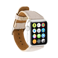 Roma Leather Watch Slim Strap for Apple Watch 38mm / 40mm