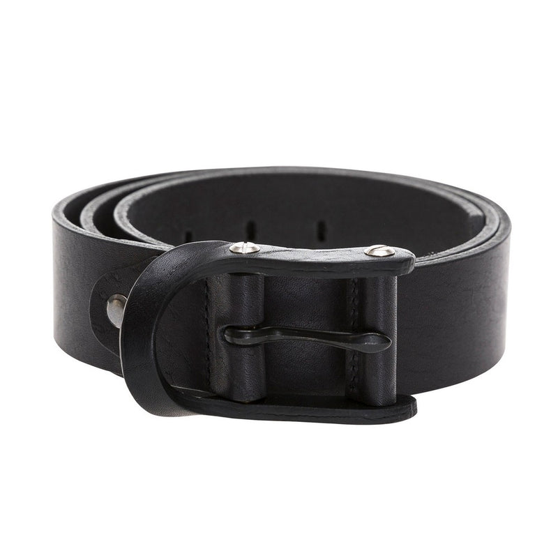 Sports Leather Belt- Leather Buckle