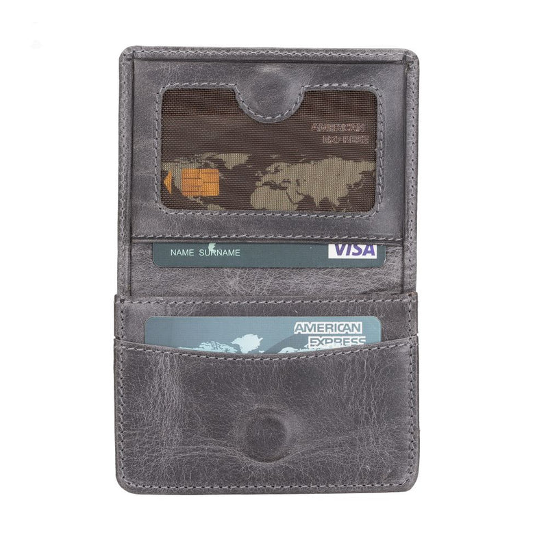 Toni Coin Leather Card Holder