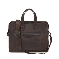 Thasos Leather Laptop Bag