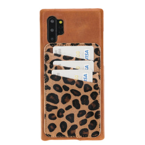 Ultimate Jacket Leather Phone Cases with Detachable Card Holder for Note 10 Plus