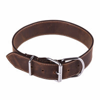 High Quality Soft Genuine Leather Studded Dog Collar or Leash