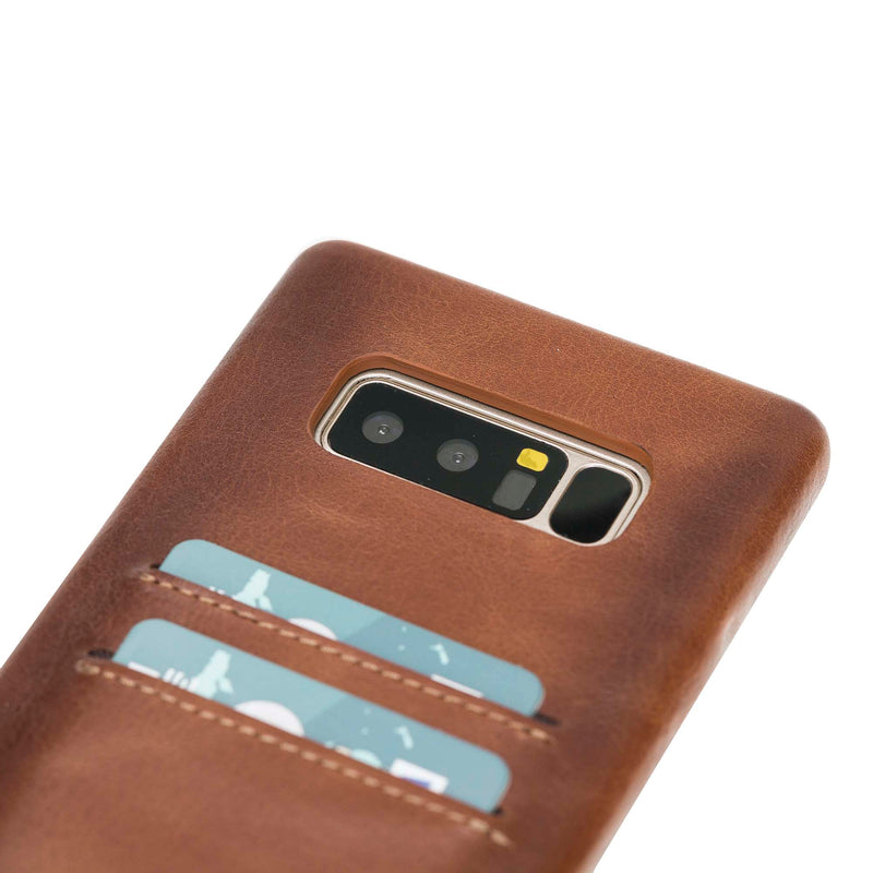 Leather Ultra Cover with Credit Card Slots for Samsung Note 8