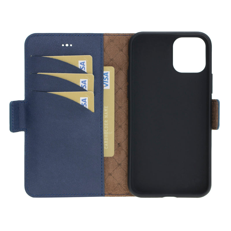 Wallet Leather Case New Edition with ID slot for Apple iPhone 11 Pro Max 6.5""