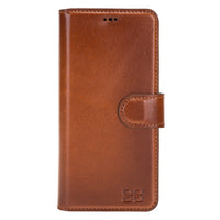 Wallet Folio Leather Case with ID slot for Samsung Galaxy S20