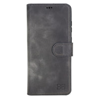 Wallet Folio Leather Case with ID slot for Samsung Galaxy S20 Ultra