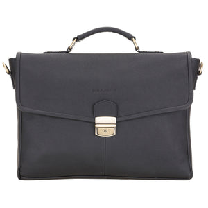 Victor Briefcase Leather Bag - Laptop Bag