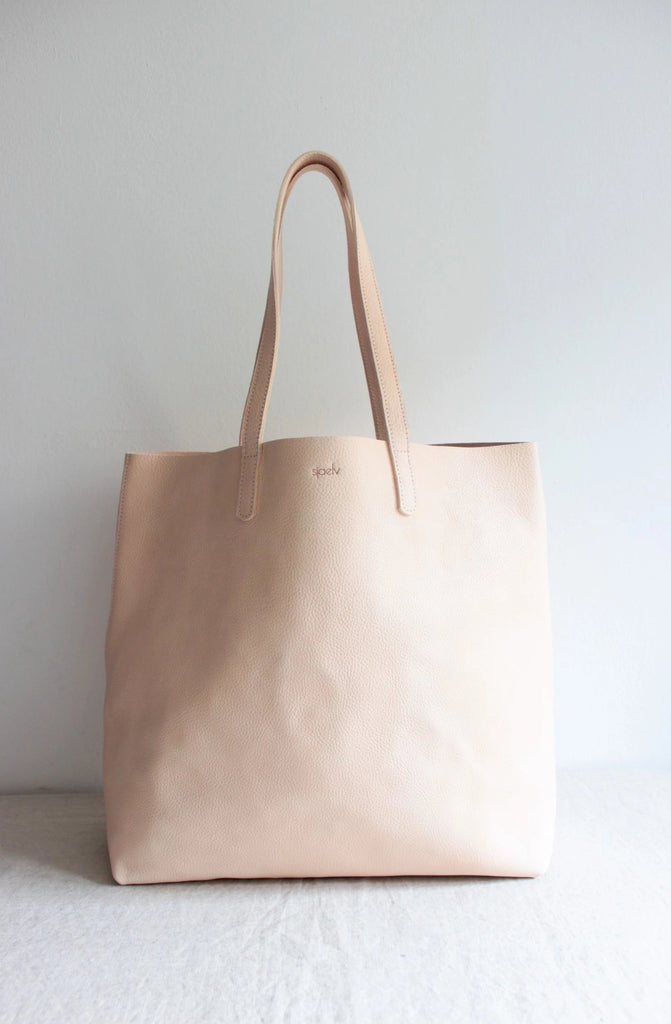Large tote bag nude