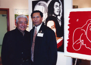 Pete Escovedo and Jesse Raudales